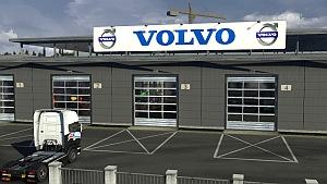 Volvo Big Garage mod