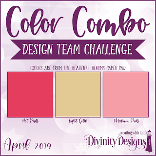 Divinity Designs LLC Design Team Color Challenge April 2019