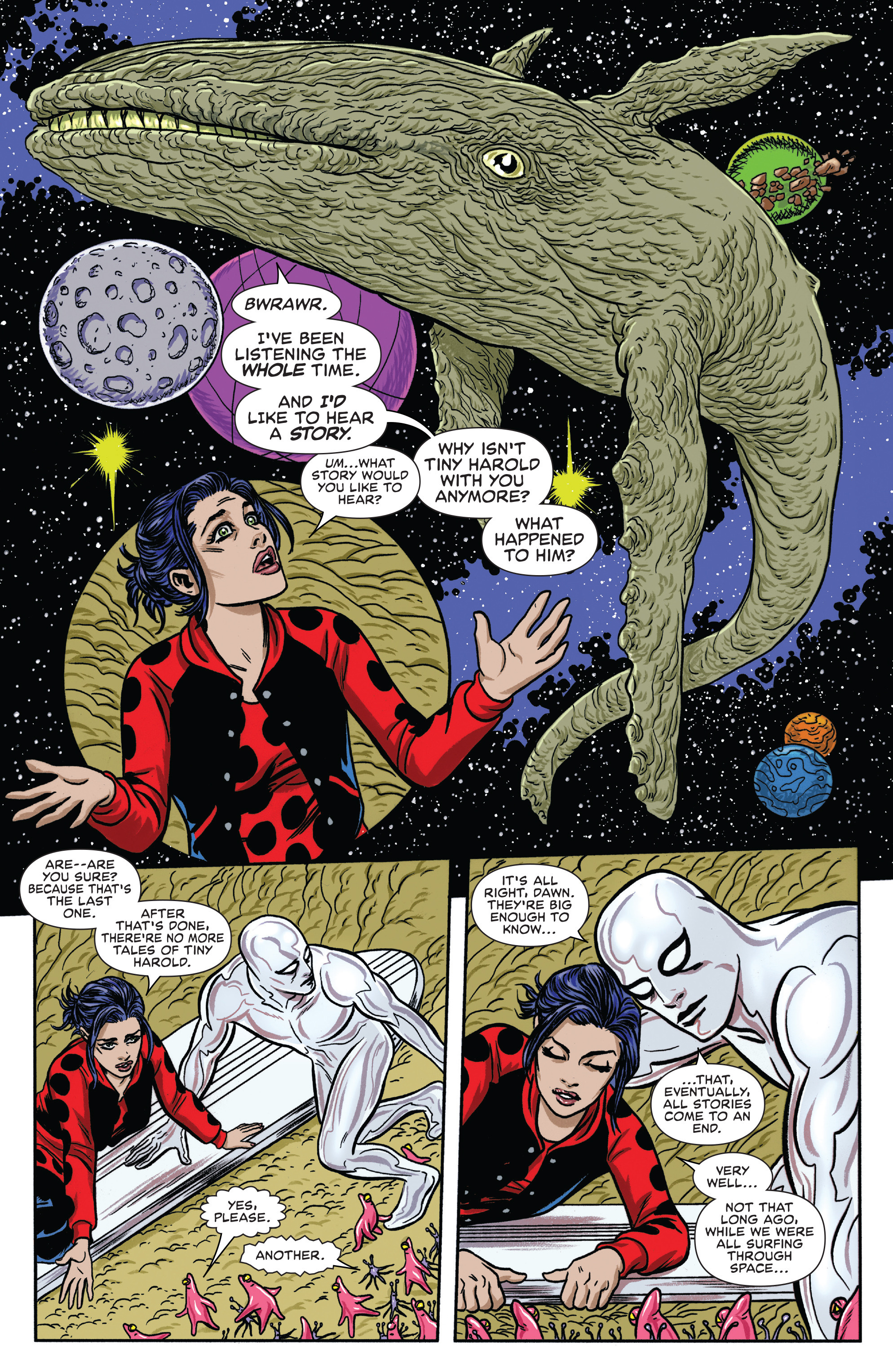 Read online Silver Surfer (2016) comic -  Issue #8 - 13
