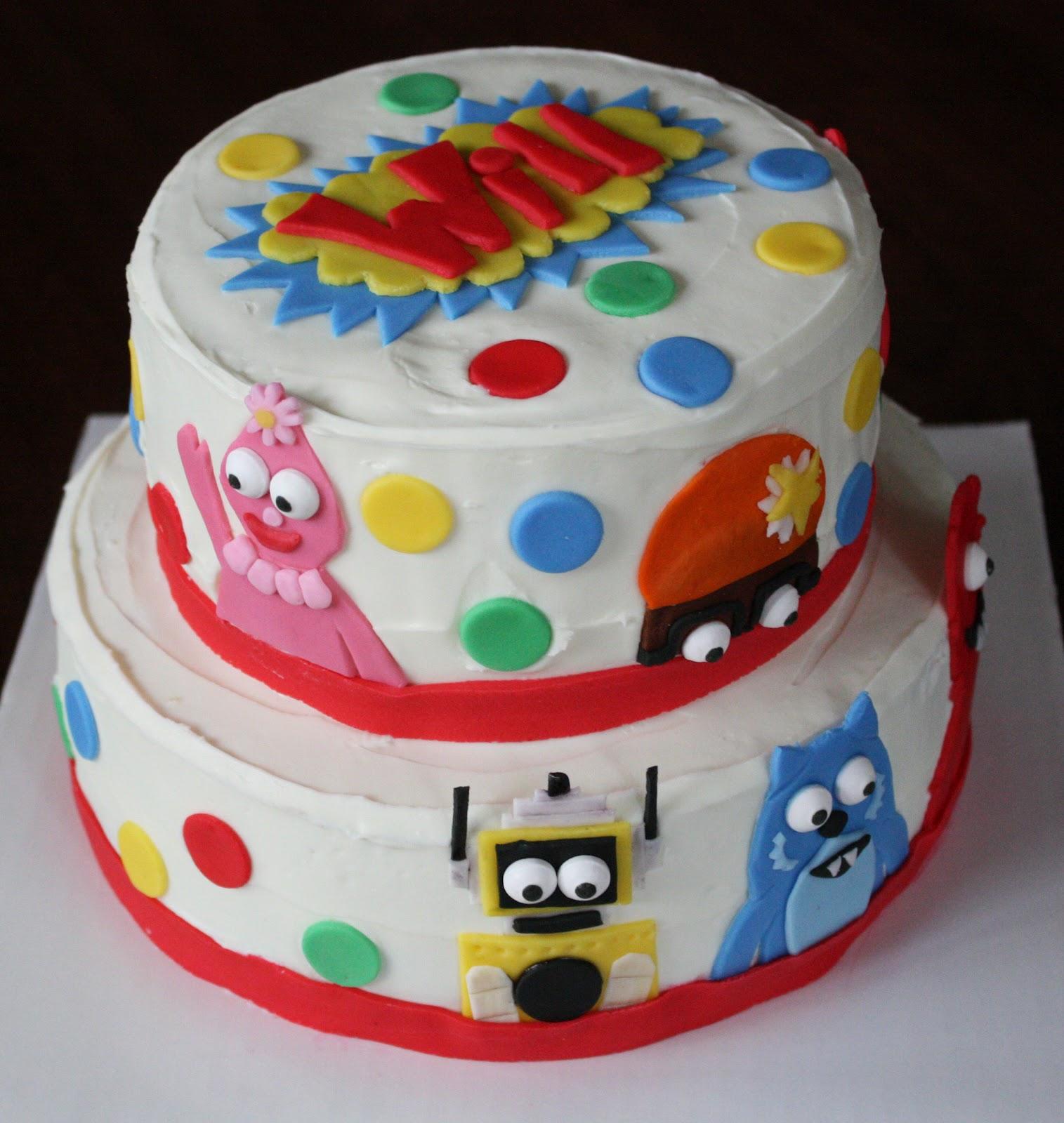 Straight To Cake Yo Gabba Gabba