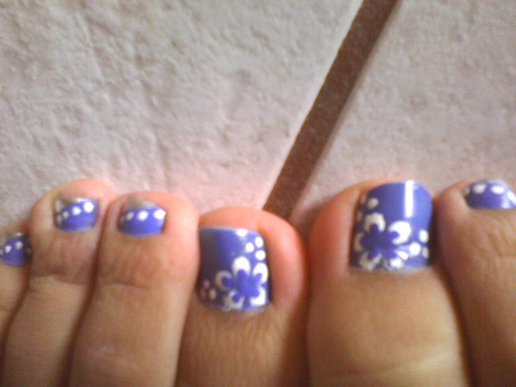 Nail Arts For Feet   Nail Art Designs