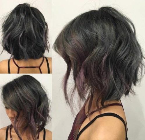 Potongan Rambut Layer Pendek