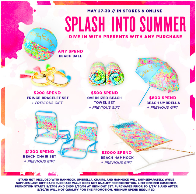 8a40962569b148 What did you have your eye on from the Lilly Pulitzer gift with purchase  event??