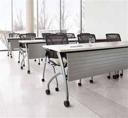 Power Ready Training Room Tables