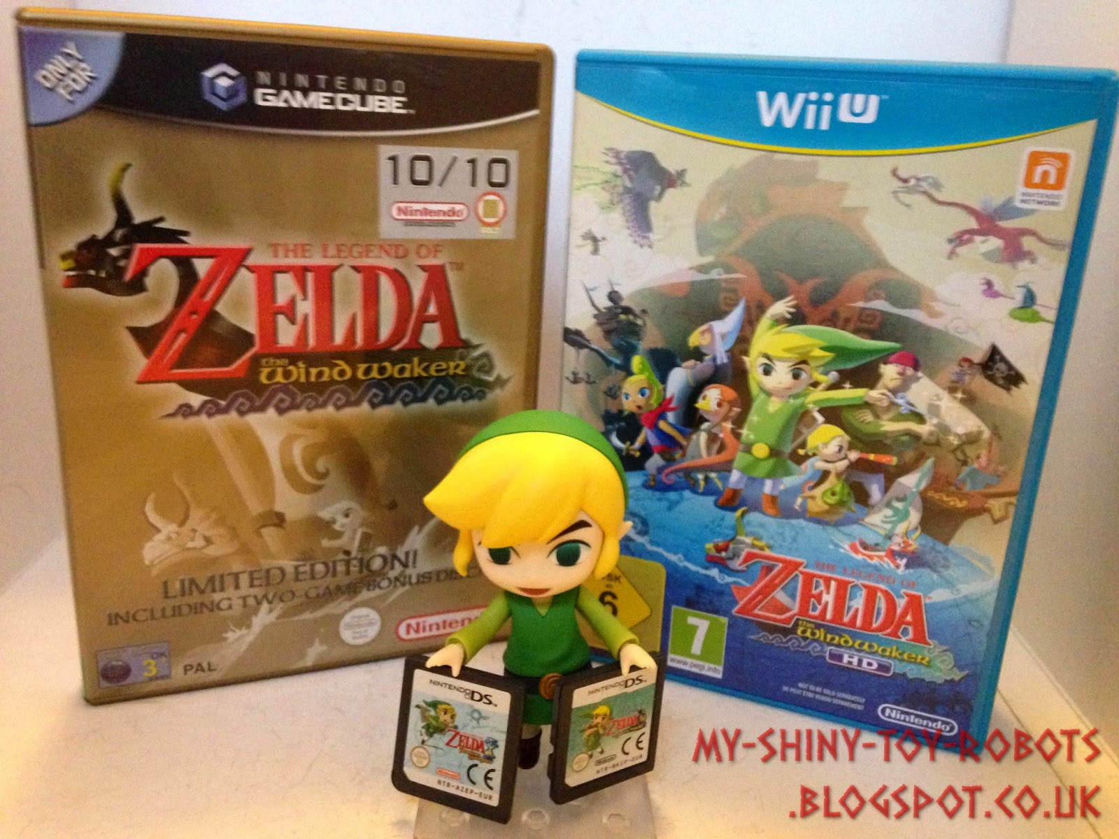 Link and his game collection