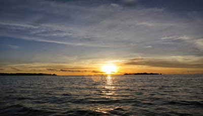 Sunset Ciputih Beach