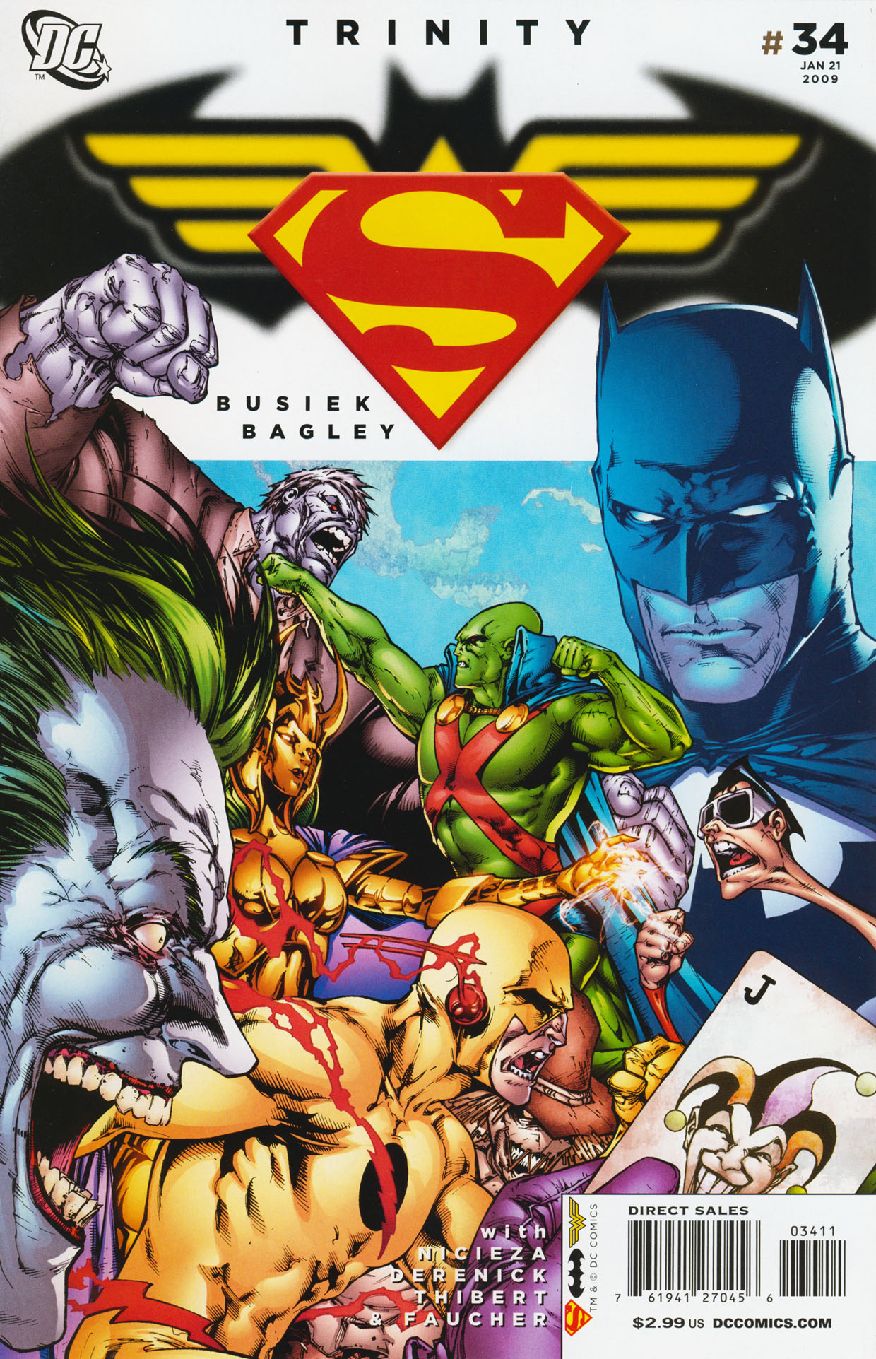 Read online Trinity (2008) comic -  Issue #34 - 1