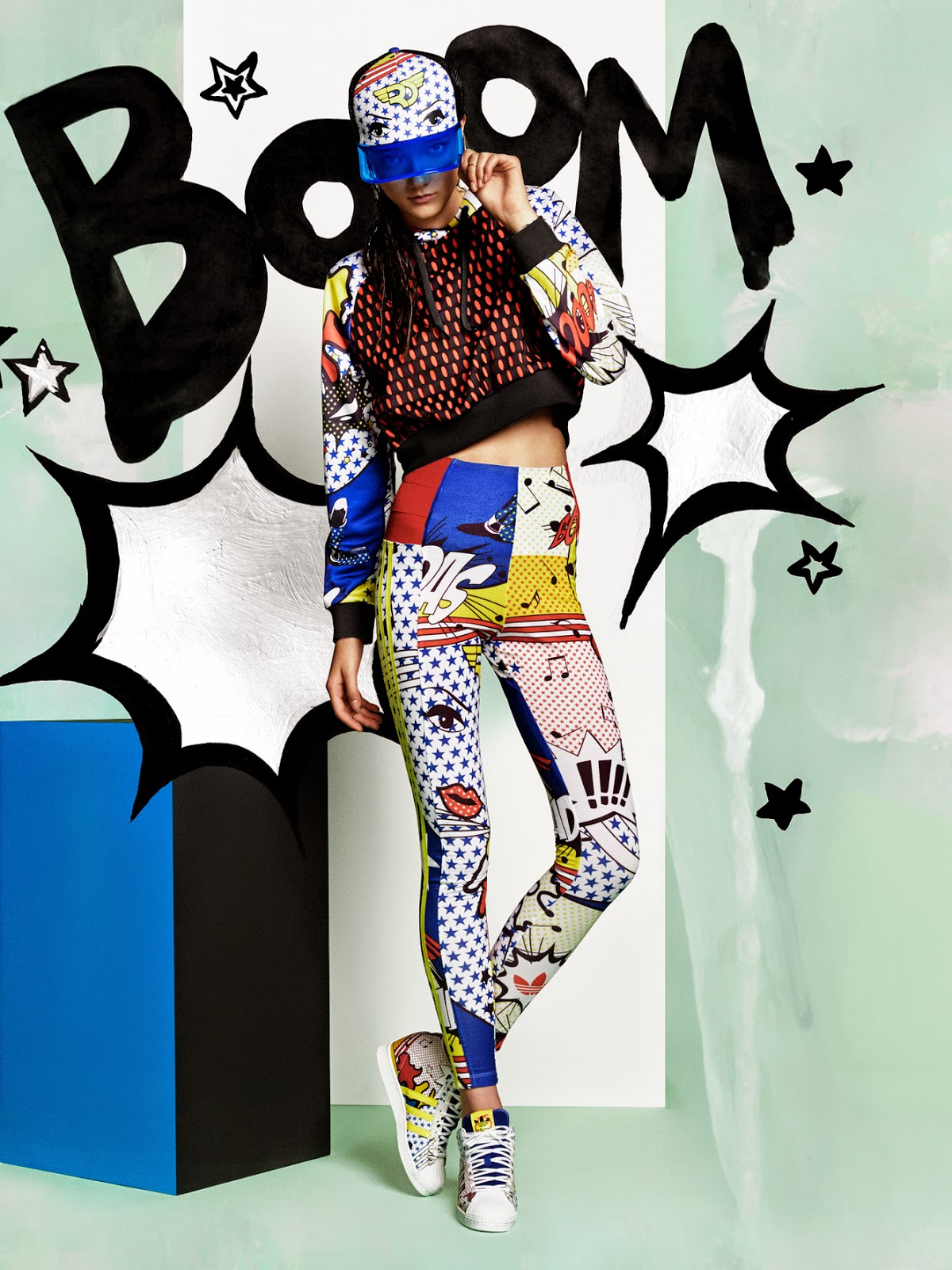 new style 8539b 52b60 The unstoppable rising star, Rita Ora collaborates with adidas Originals in  a bold, brave and technicolour range that packs a punch this season!