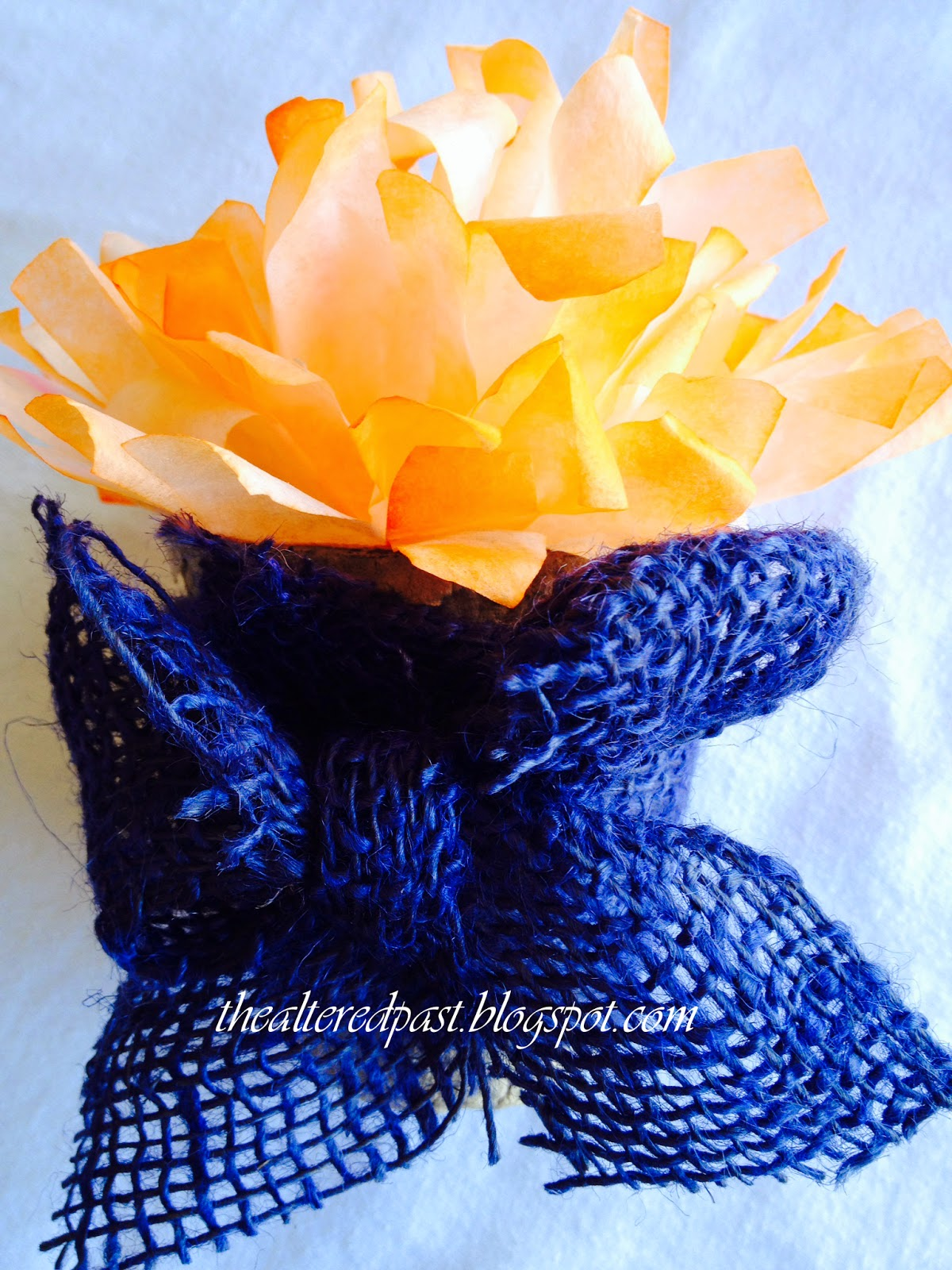 beautiful coffee filter flowers diy project