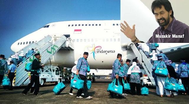 Garuda Indonesia Terbang Langsung ke Jeddah, Ini Bukti Keberhasilan Muzakir Manaf