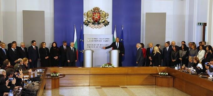 В Министерския съвет се състоя церемонията по предаване на властта на служебното правителство