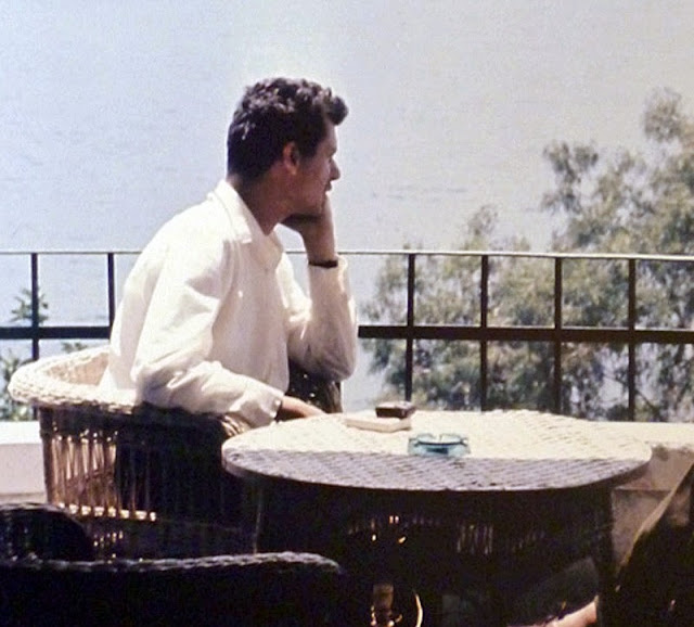 Wilfried Fiedler in Saranda in1957