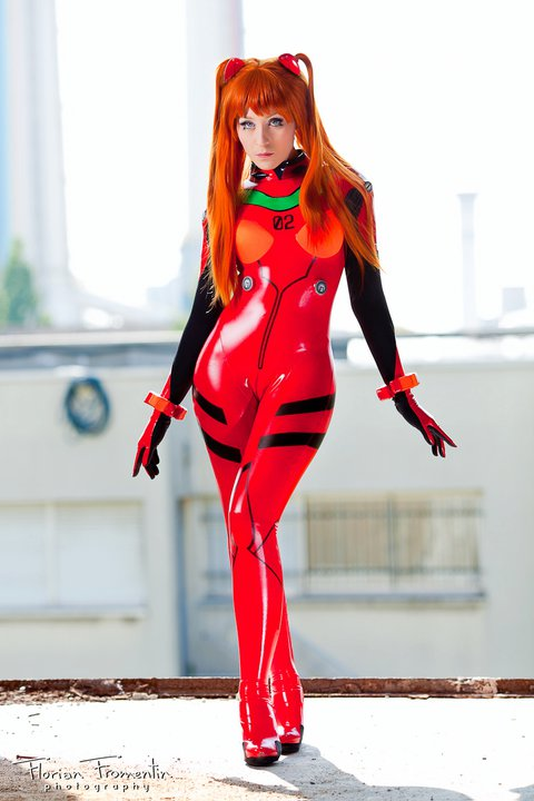 The Incredible Stuffs Adorable Asuka Cosplay From Neon