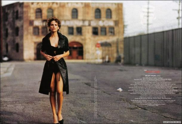 Hilary Swank by Peter Lindbergh in Los Angeles (December 1999) | Ses Rêveries