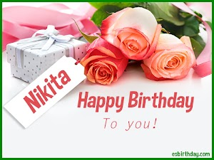 Happy Birthday Nikita