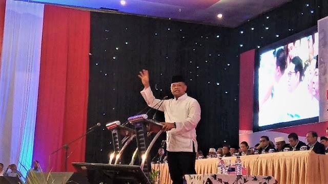 Gatot di Kampanye Prabowo: Saya Hadir ke Sini demi Bangsa dan Negara