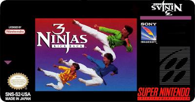 3 Ninjas Kick Back em Português - Super Nintendo Download