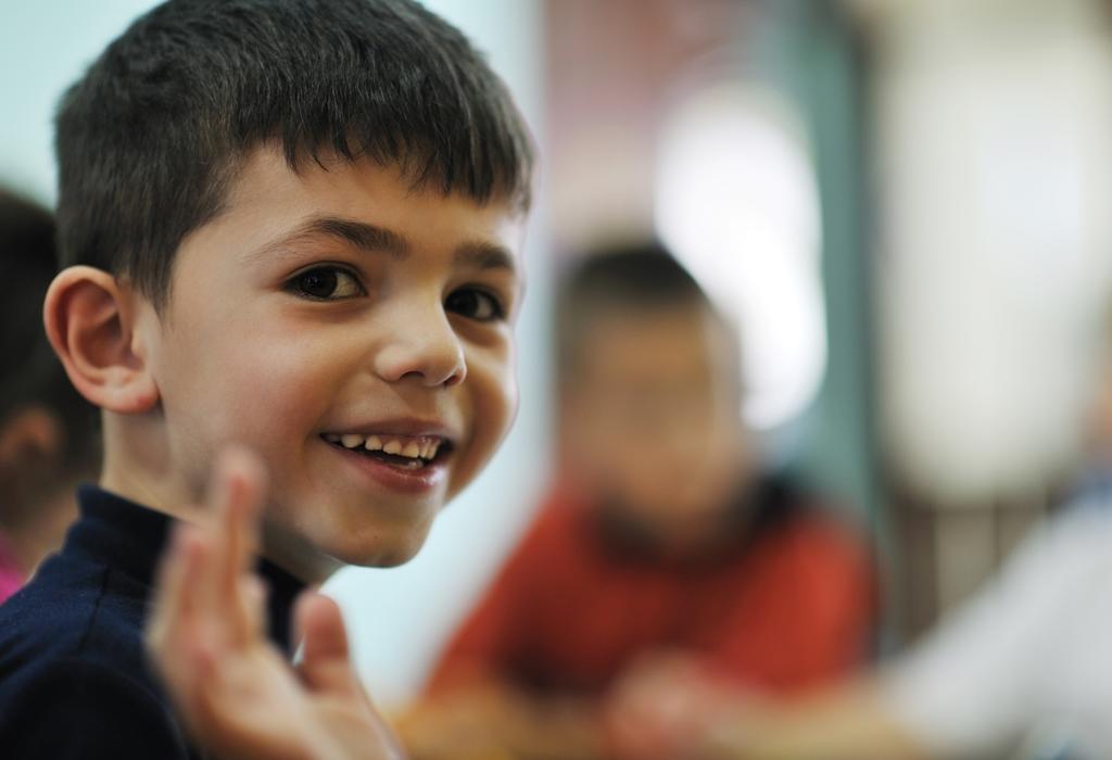 NAMC Studying Montessori Today Polk Lillard Introduction Preface. Boy waving