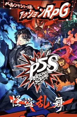 Persona 5 Scramble: The Phantom Strikers Game revela o lançamento em 20 de fevereiro
