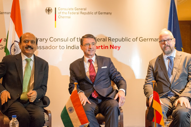 Mr. BVR Mohan Reddy appointed as the Honorary Consul of the Federal Republic of Germany