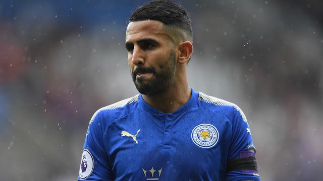 Riyad Mahrez mogok setelah Leicester gagal menjual dia ke Manchester City
