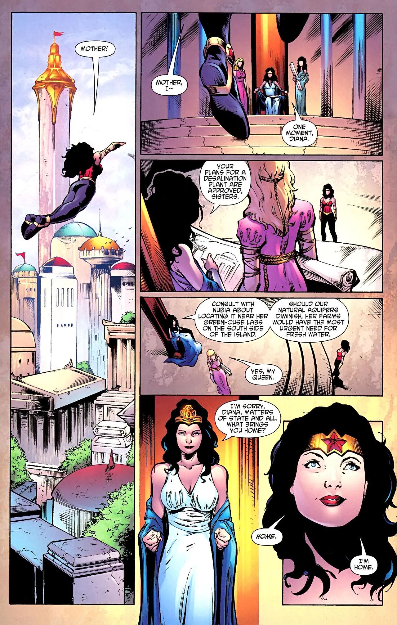 Read online Wonder Woman (2006) comic -  Issue #614 - 16