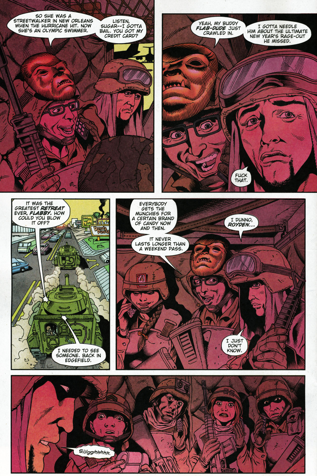 Read online Army @ Love comic -  Issue #4 - 6