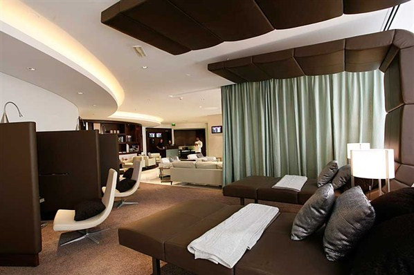 pier 1 leather chair bedroom lounge world's most luxurious airport lounges - oddetorium