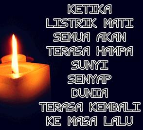 Tahun 2017 disambut dengan mati Listrik di Aceh
