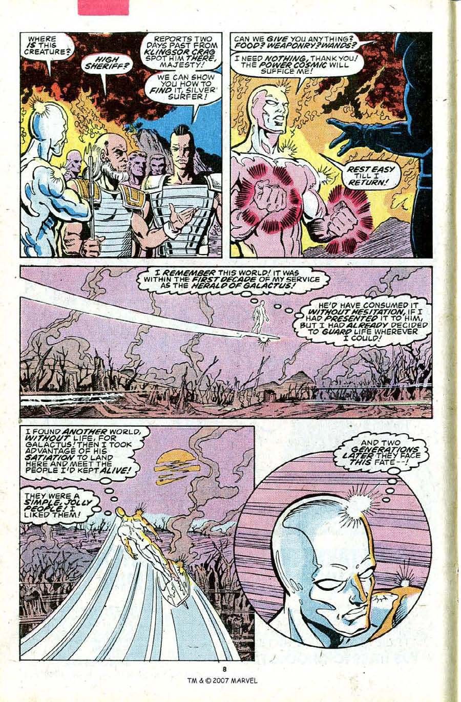 Read online Silver Surfer (1987) comic -  Issue #23 - 10