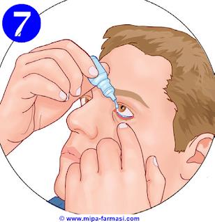 Cara mengunakan obat tetes mata