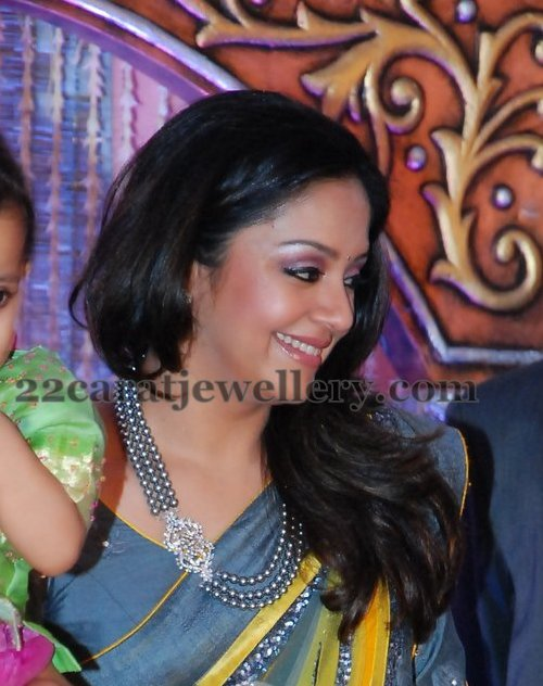 Actress Jyothika Jewellery