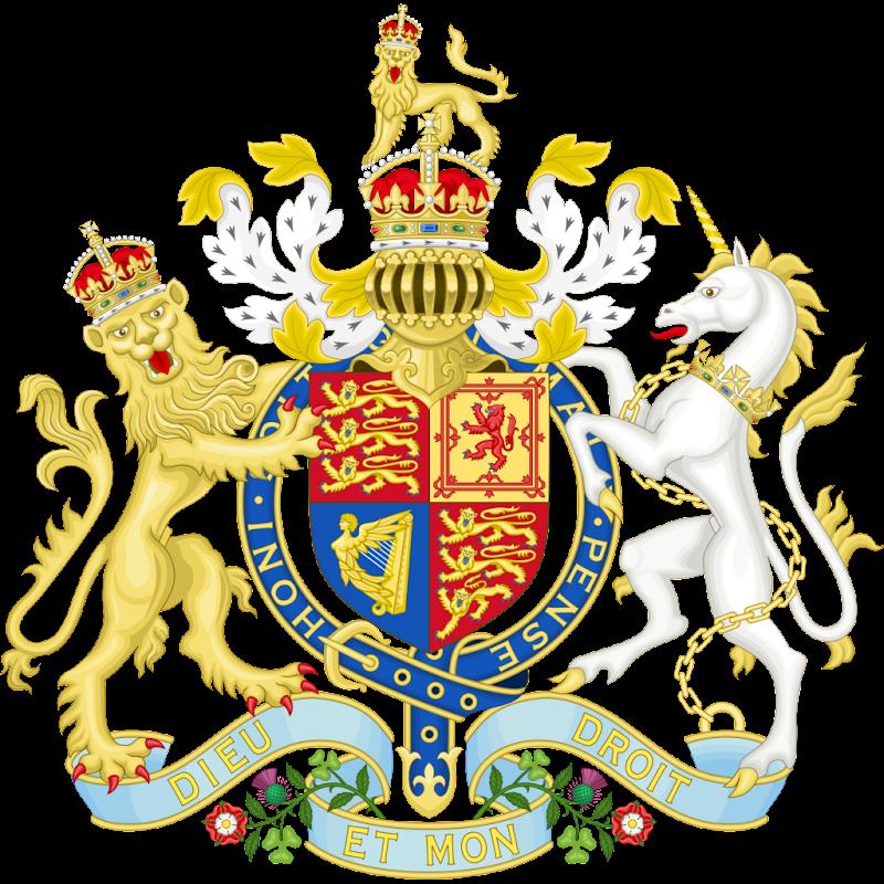 Logo Gambar Lambang Simbol Negara Britania Raya PNG JPG ukuran 800 px