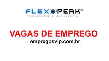 FLEX PEAK vagas de emprego