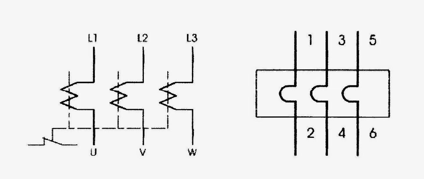 Rele termico simbologia