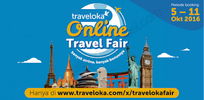 Jadwal Traveloka Travel Fair Oktober 2016