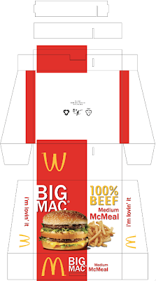 Hamburger Box Template New Proposed Combo