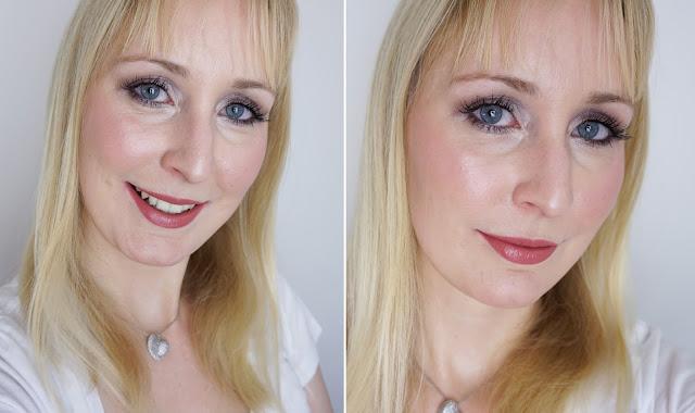 Mac - Cosmo Lippenstift Lipstick Look Swatches