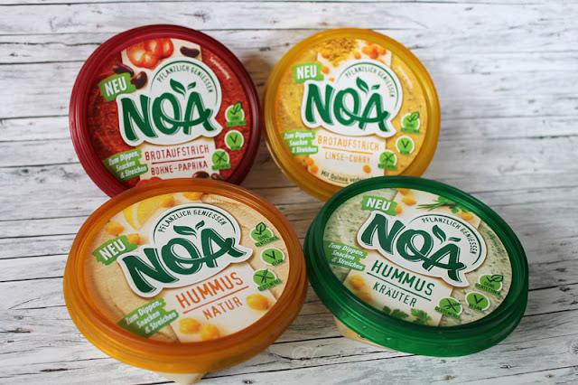 Gewinnspiel - Kennenlernpaket mit allen vier pflanzlichen NOA-Produkten