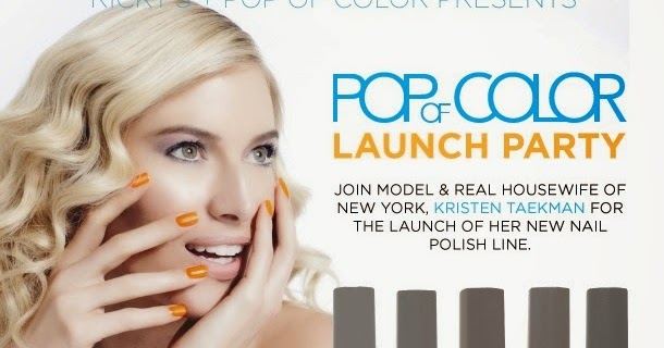 Pop Of Color Nail Polish Line Hession Hairdressing