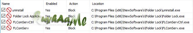 Folder Lock full