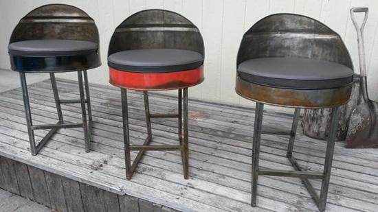 7 Inspirasi minimalis desain kursi dari drum bekas