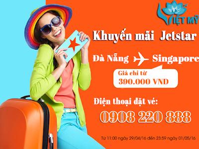 Khuyến mãi Jetstar đi Đà Nẵng
