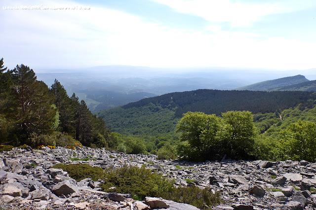 pseudo vistas desde un punto del Moncayo