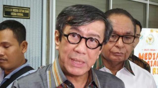 Korupsi dalam RKUHP, Menkumham Yasonna: Pemerintah tak Ingin Bunuh Diri Politik, Apalagi Mau Pemilu