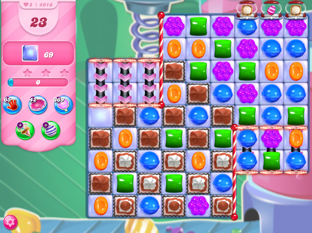 Candy Crush Saga level 4916