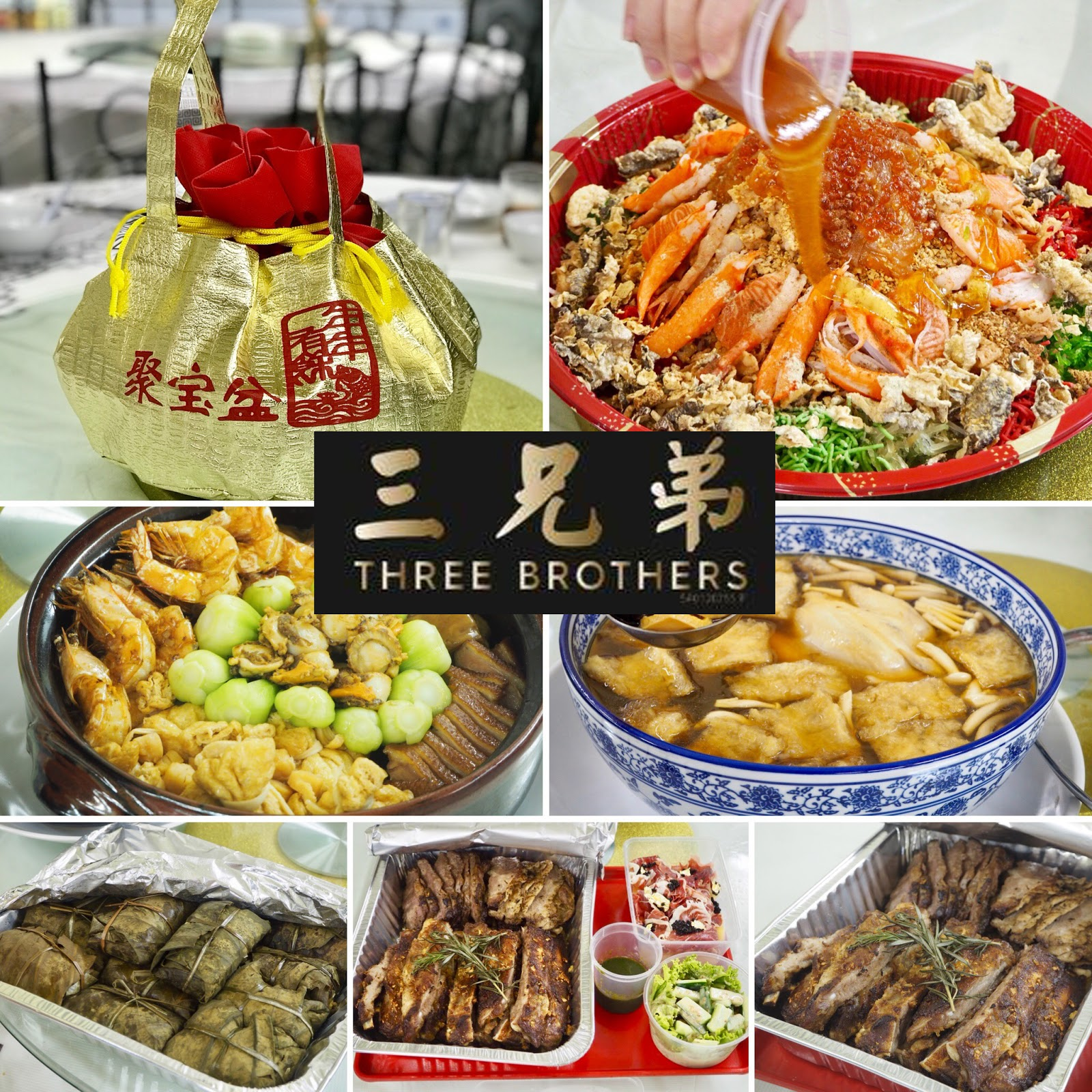 [Food Review] Lets Take-Away Food during this Chinese New Year @ Three Brothers Restaurant