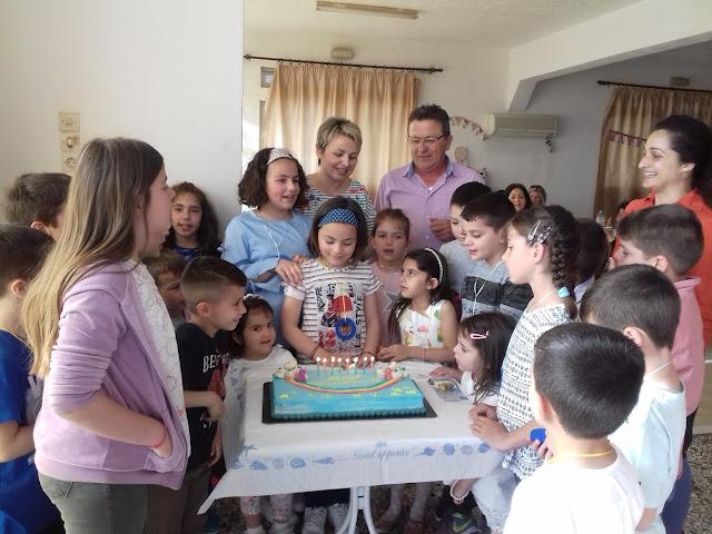 Τα γενέθλια της Μυρτώς!!!