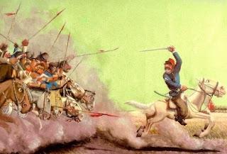 Ejército de gauchos en la guerra por la independencia