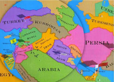 الواقع الأمريكي – الروسي الجديد في سوريا وعملية تثبيت ( كردستان – سنستان – علويستان- دروزستان )